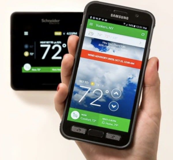 Smart Controls for your heating with your smart phone