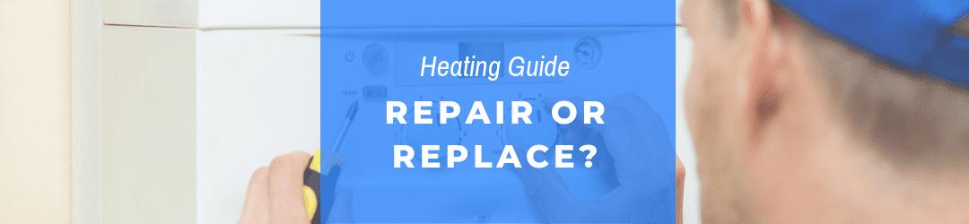 should I repair or replace the boiler