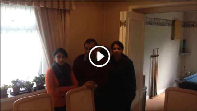 video testimonial for combination boiler installation